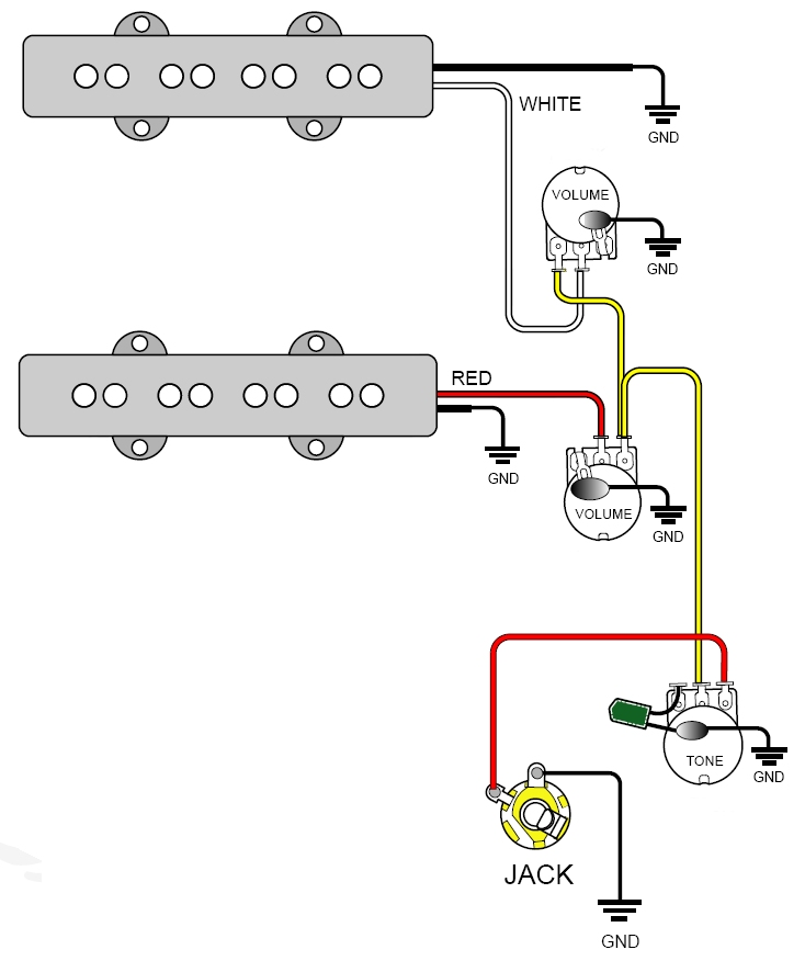490ad551b0 Bass Guitar Wiring Diagram 2 Pickups 2 10 Ikverdiengeldmet Nl  u2022  Washburn BT 2 Pickups Wiring-Diagram 2 Pickup Wiring Diagram