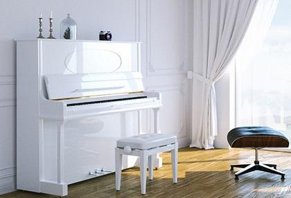 白いピアノ