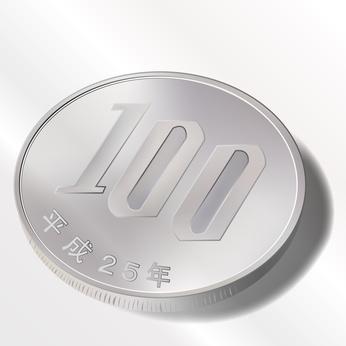 100円 百円 金 コイン
