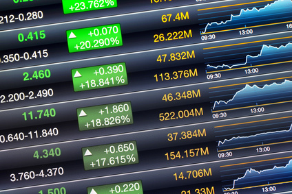 Increases price screen of stock market