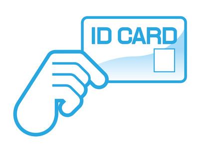 IDカード提示