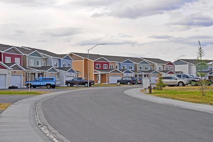 Wohngebiet in Amerika