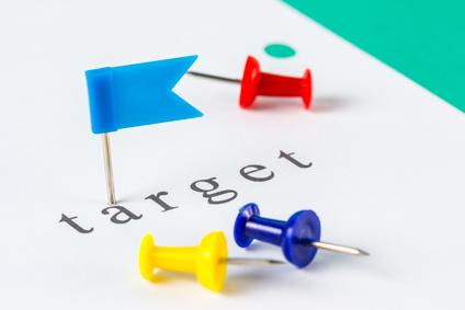 Target push pin