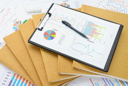 ビジネスイメージ―ファイルと資料とボールペã