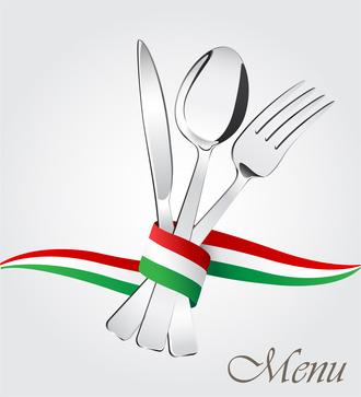 menu cucina italiana