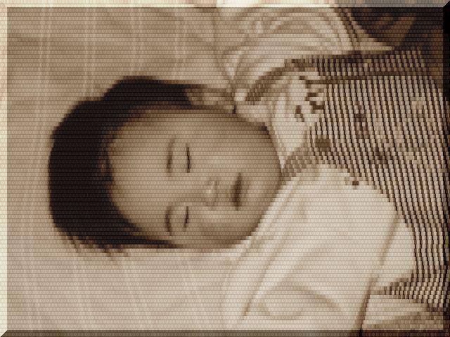 赤ちゃん寝姿
