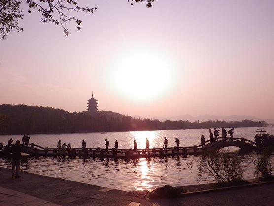 杭州の世界遺産である西湖