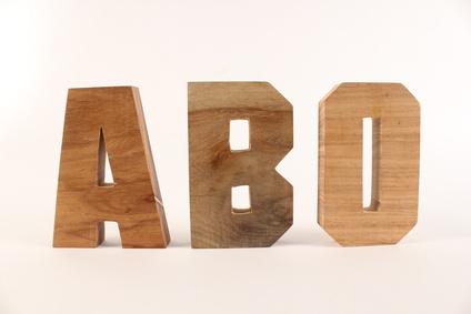 血液型のタイプであるABO