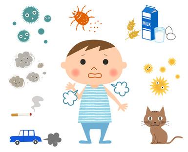 喘息発作の原因