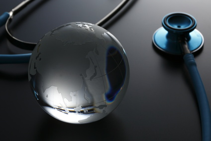聴診器と地球