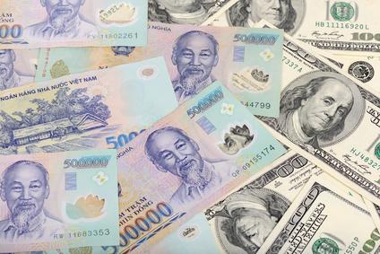 ベトナムの通貨と米ドル