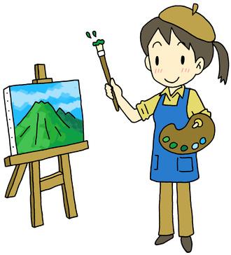 画家の女性