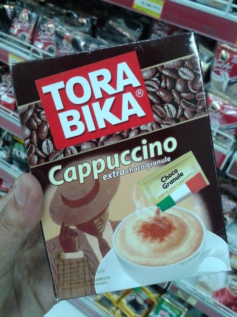 TORABIKAのカプチーノ