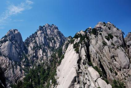 中国の黄山