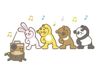動物たちのラジオ体操