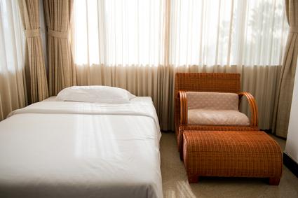 ベッドルームとインテリア