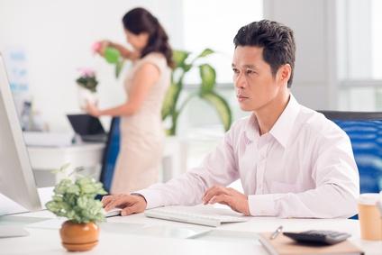 ベトナムのビジネスマン
