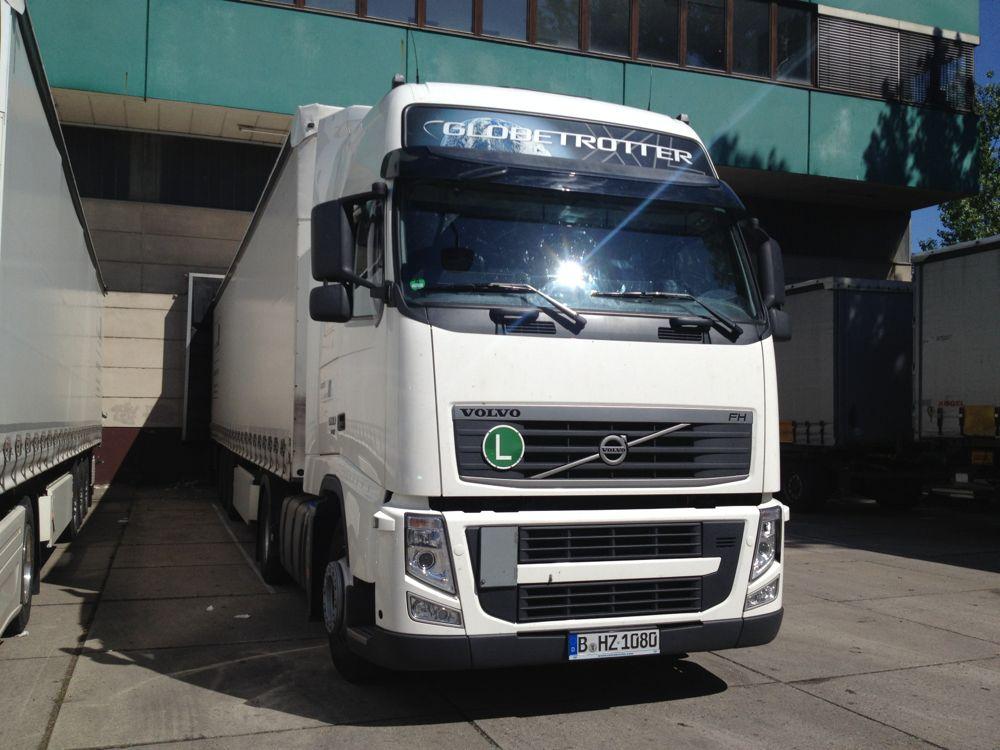 欧州サイズのトラック