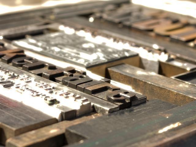印刷の原板
