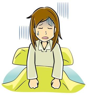 低血圧で起きられない女性