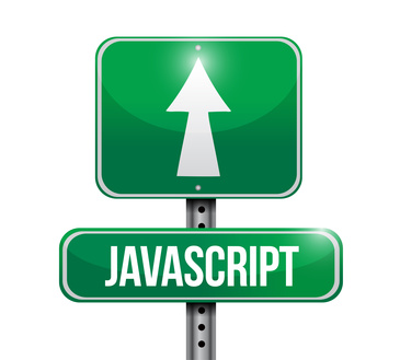 javascript road sign illustration