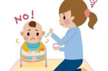 離乳食と赤ちゃん