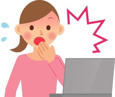 ネットで自分の個人情報を見つけて驚く女性