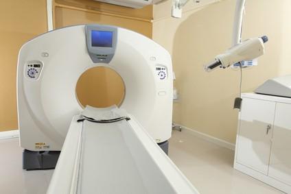 CT検査装置の写真
