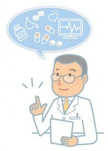 医師による薬の説明