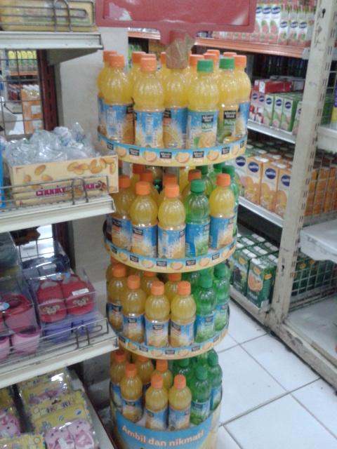 人気飲料も常温で販売しています