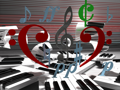 ピアノのライブのイメージ