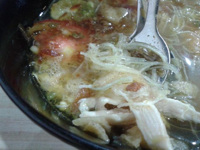 あっさりしたスープでおいしいです