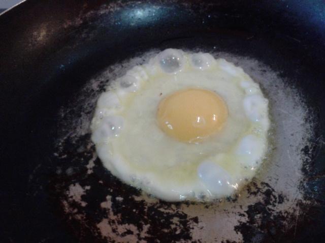 目玉焼きの作り方