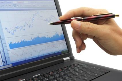 株のチャートをパソコンで見る