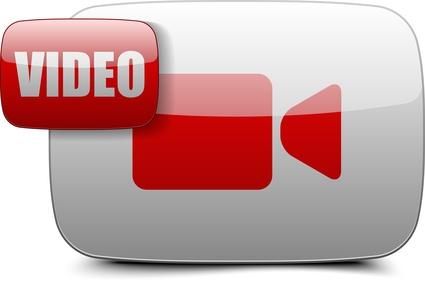 ビデオ撮影のボタンのイメージ