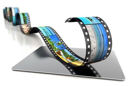 タブレットと動画のイメージ