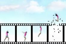 動画とフィルムのイメージ